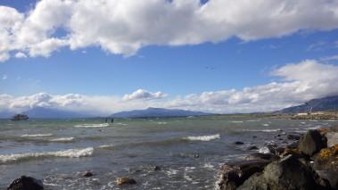 Pogled na zaljev Ultima Esperanza